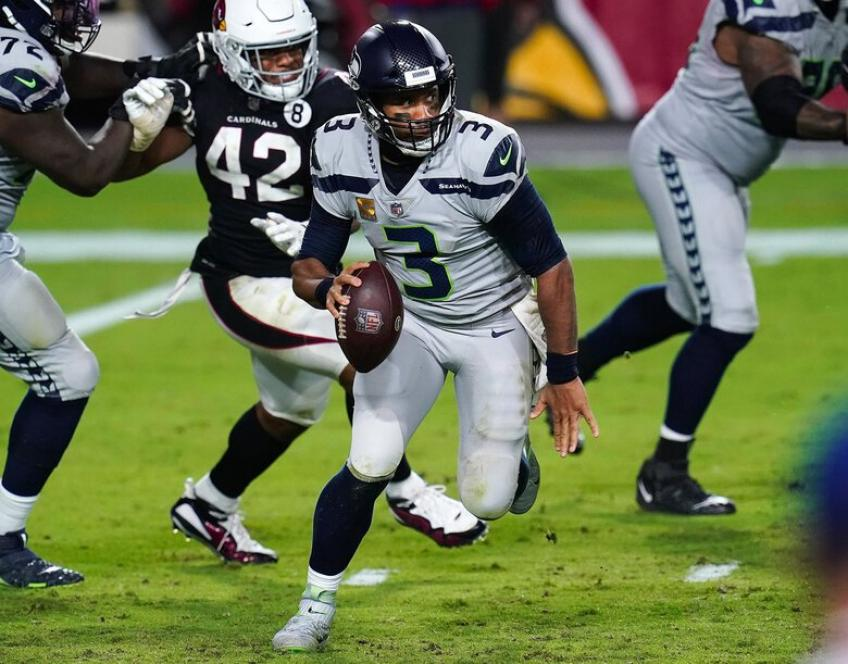 Seahawks' Russell Wilson: Confidence remains same after 3 interceptions vs Cardinals