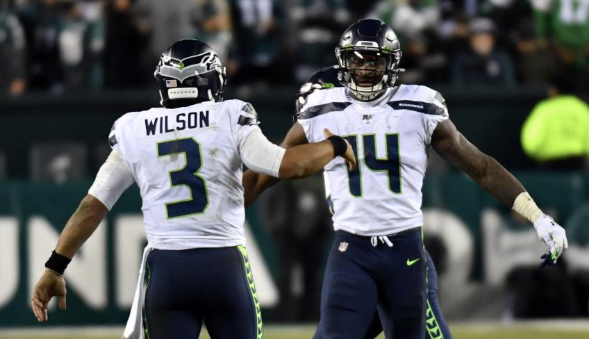 Seahawks' DK Metcalf: Russell Wilson right back into MVP conversation