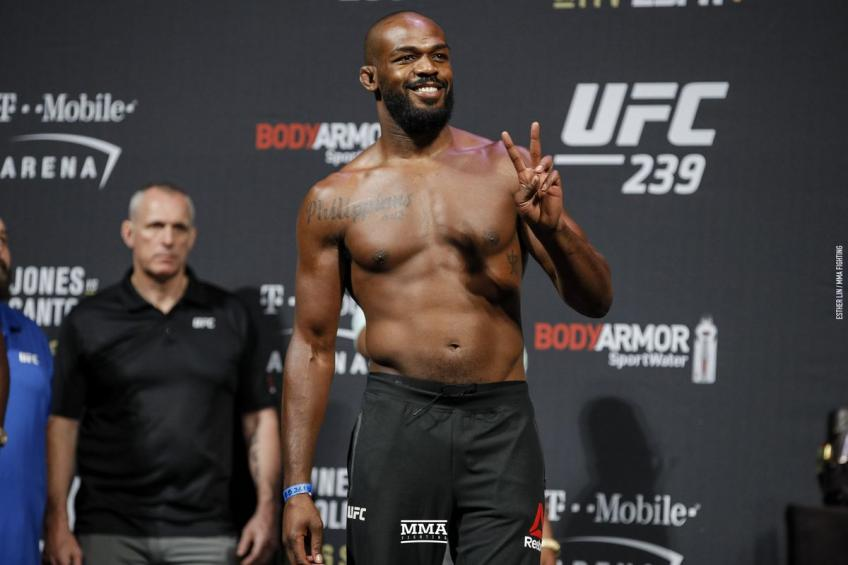 Jon Jones responded to Cornier's allegations of doping