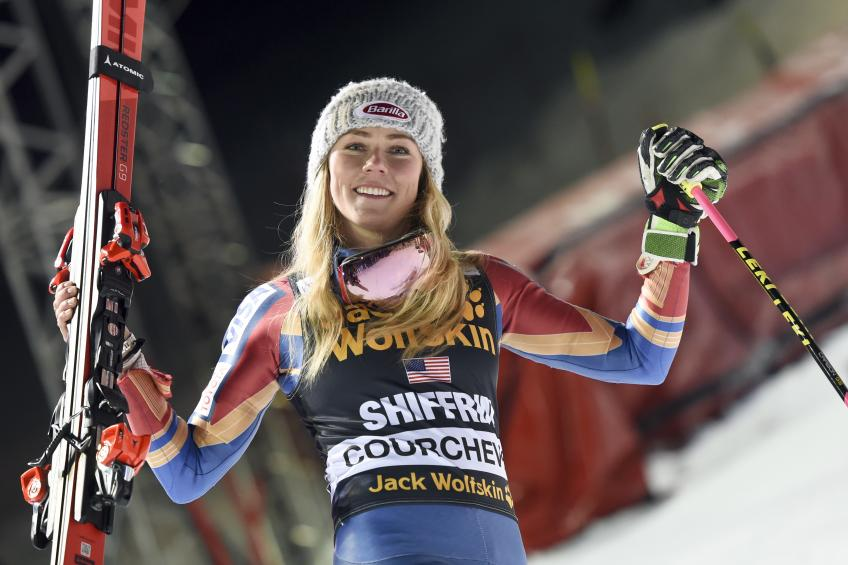 Mikaela Shiffrin finally in Finland!