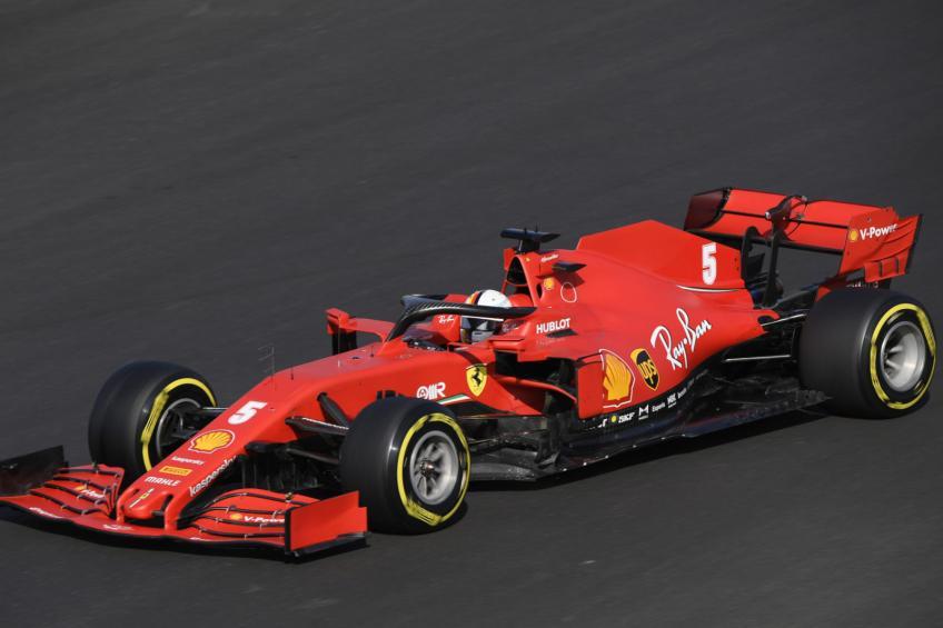 Ferrari joined the race in the fight for best constructor place