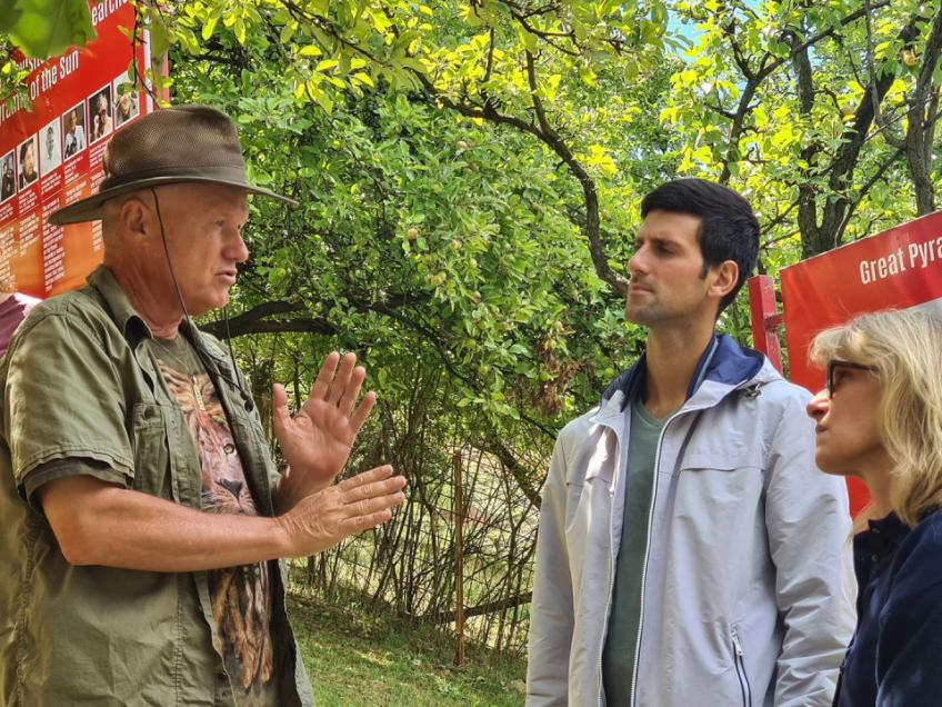 Novak Djokovic visited the Bosnian pyramids and talked about the experience