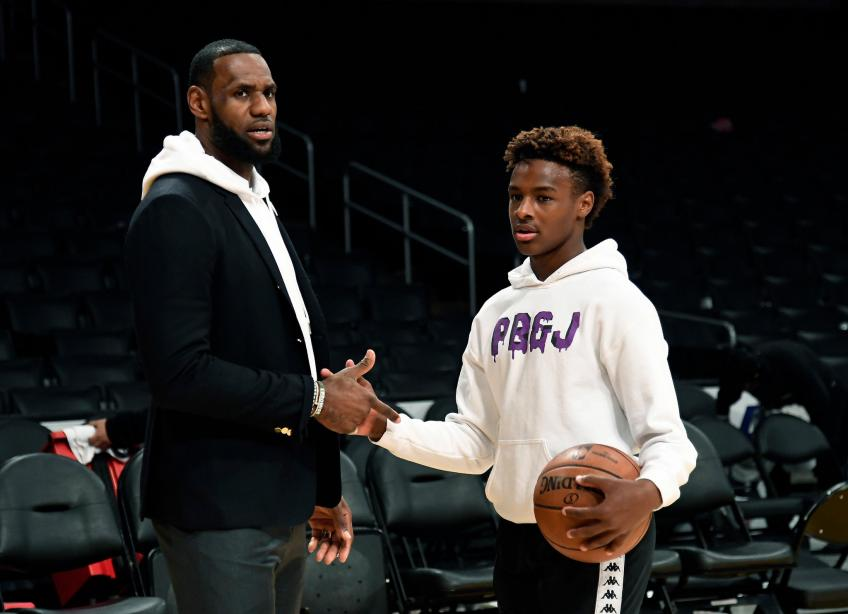 Lakers' LeBron James: Best thing about my new deal is potential future with my son