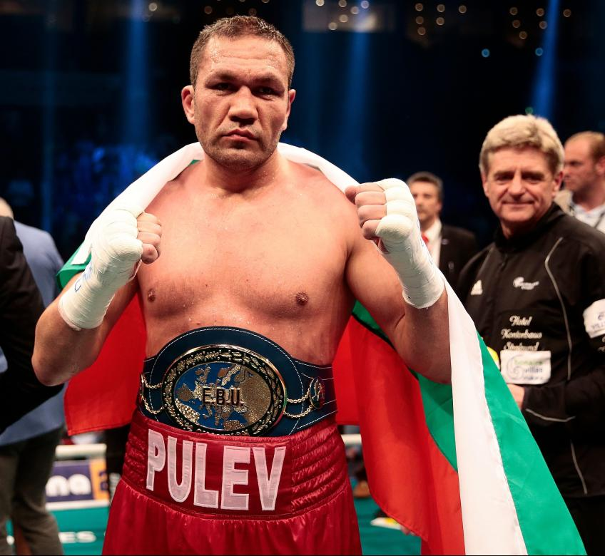 Kubrat Pulev believes in victory against Anthony Joshua
