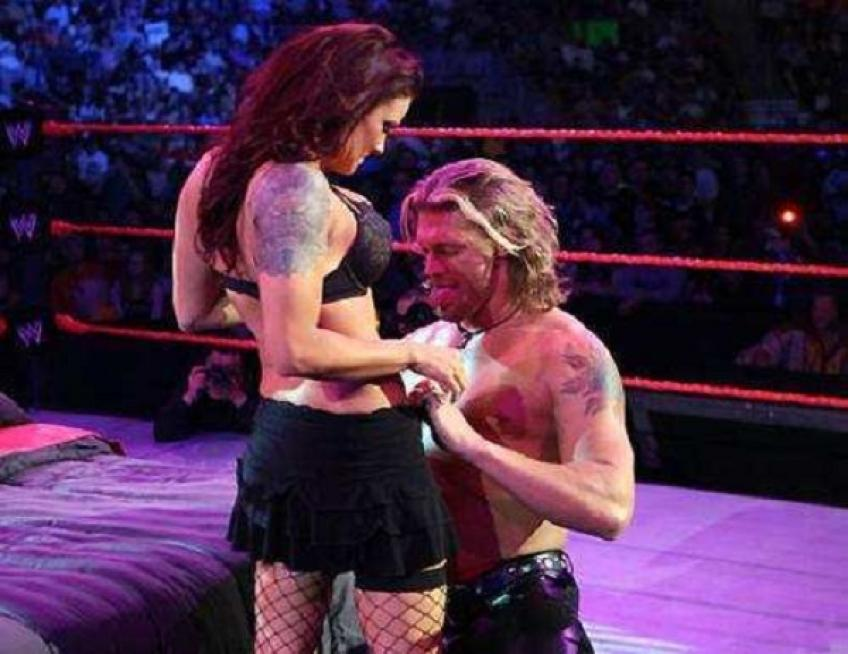 """Lita, Edge and the bed-ring moment: """"I said no, WWE threatened to kick me out!"""""""