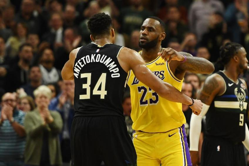 LeBron James selects Giannis Antetokounmpo first in 2021 NBA All Star draft