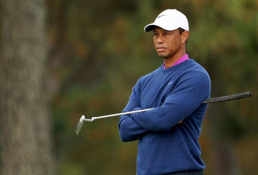 Tiger Woods is recovering