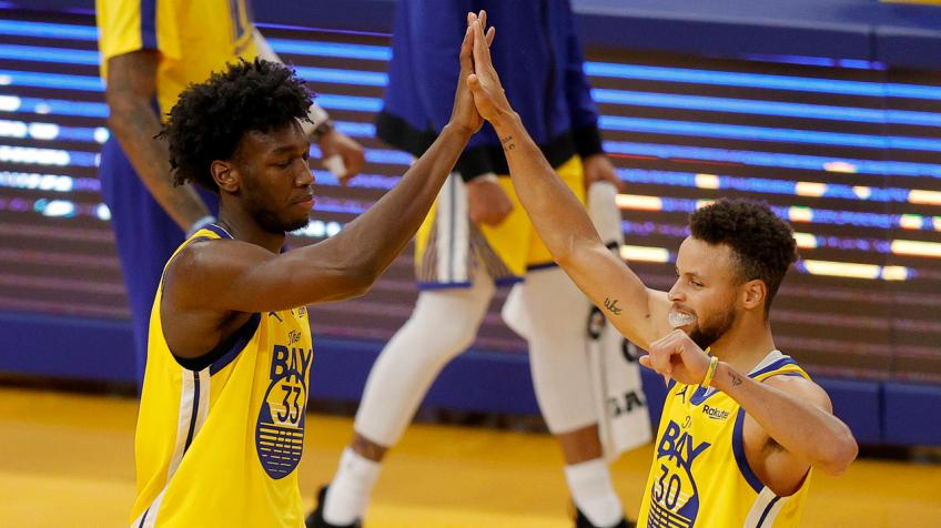 Warriors' Stephen Curry leaves encouraging note to James Wiseman after injury