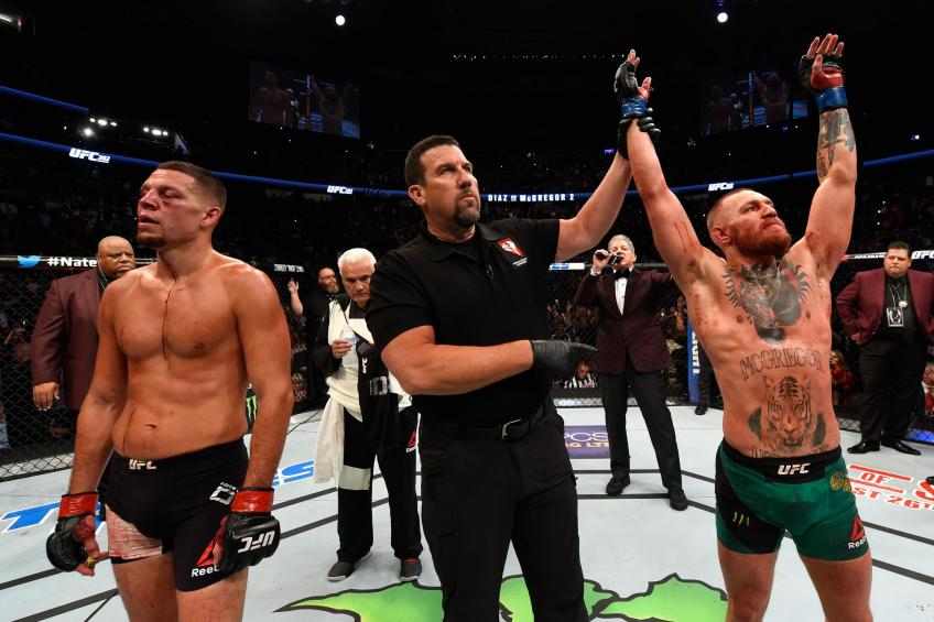 McGregor called out Diaz for using steroids