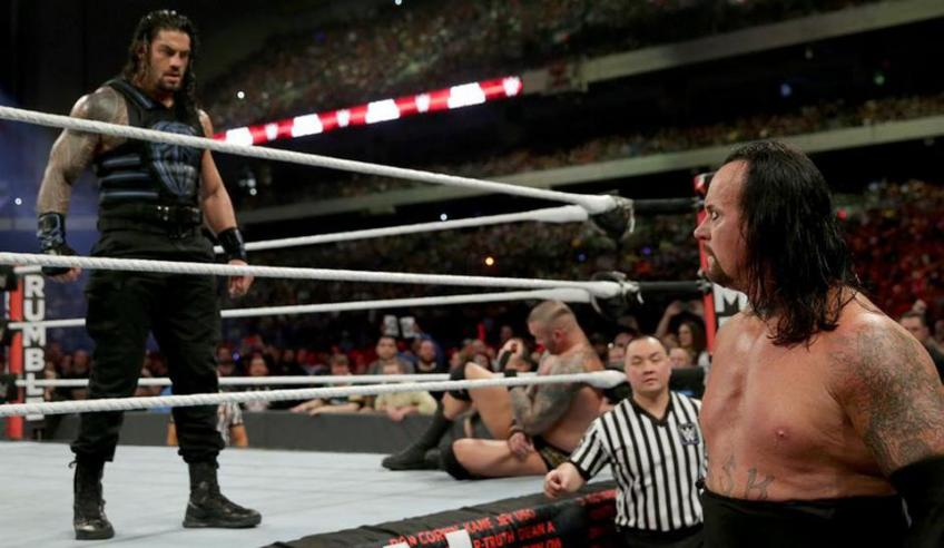 "The Undertaker: ""In the match against Roman Reigns I was out of shape"""