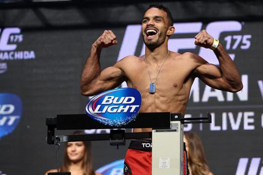 Rob Font will wait patiently for the next opponent