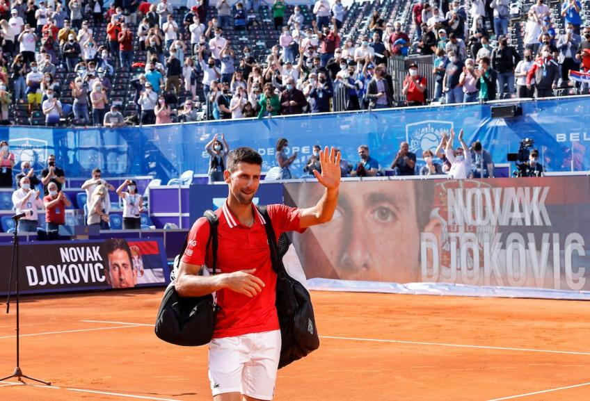 Novak Djokovic: Winning Belgrade was special and it couldn't be better ahead of RG