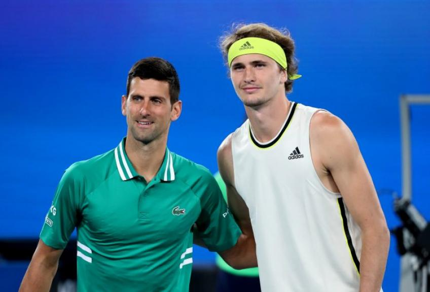 """Zverev before the US Open: """"Djokovic is obviously going to be the favourite"""""""