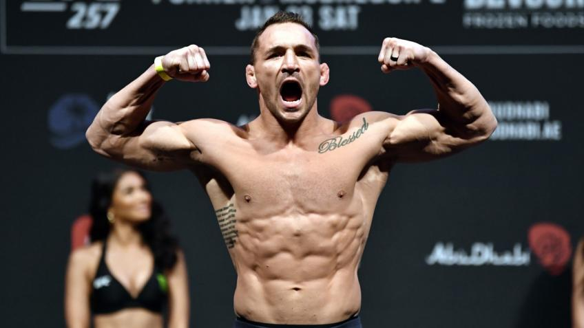 Michael Chandler signed a contract for the fight