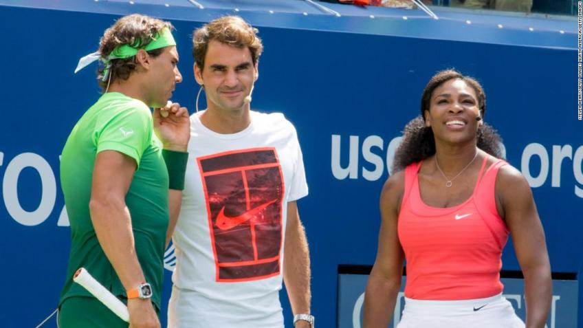 After 24 years, a Grand Slam without Federer, Serena and Nadal