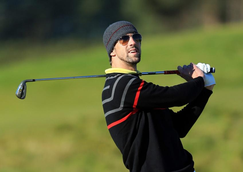Michael Phelps the secret behind Rahm and Spieth!