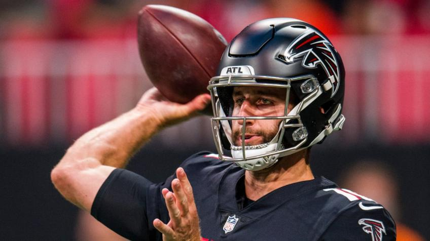 Josh Rosen determined to make most out of opportunity with Falcons