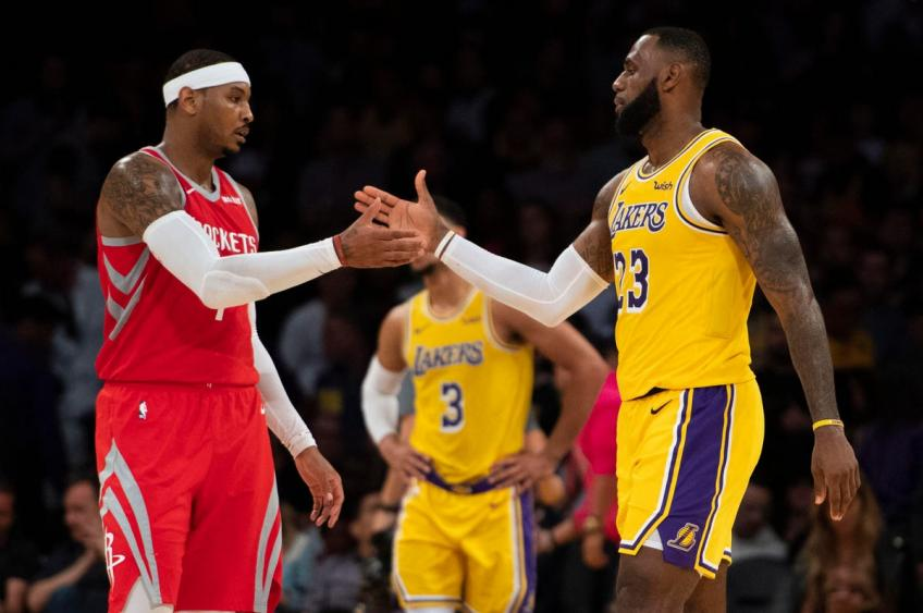 Carmelo Anthony: I didn't expect Lakers or LeBron James to call me