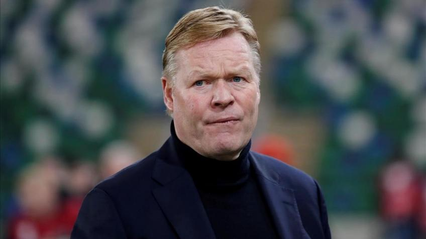 The difficult financial situation is in Koeman's favor