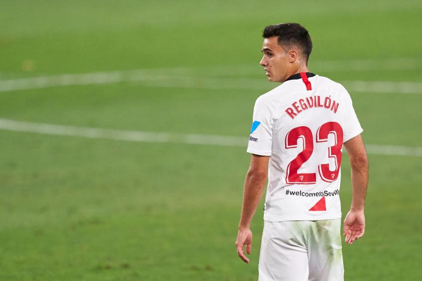Reguilon has a call from Manchester United