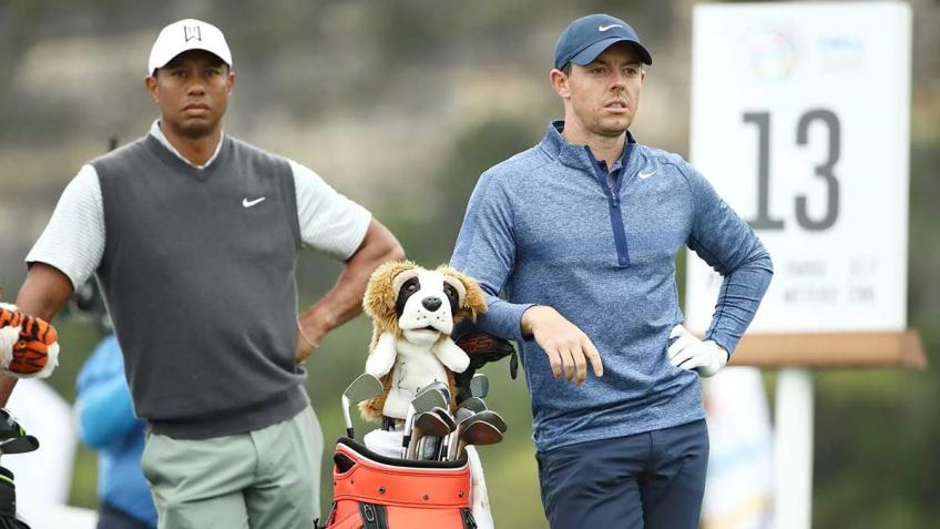 Tiger Woods, Rory McIlroy struggling with fan-free golf
