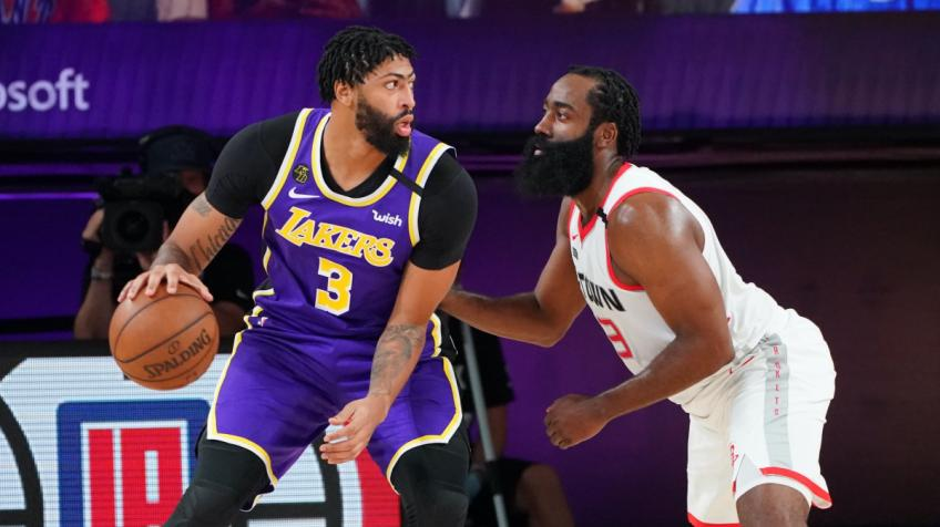 Lakers' Anthony Davis: Rockets are a good defensive team