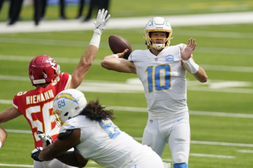 Chargers QB Justin Herbert thought HC was joking when told he'd start against Chiefs
