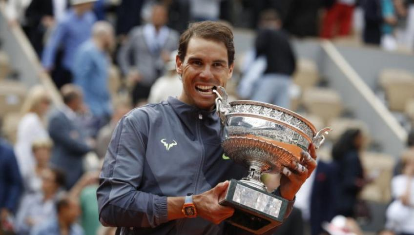 Rafael Nadal: I'd love to finish my career with 25 Grand Slams